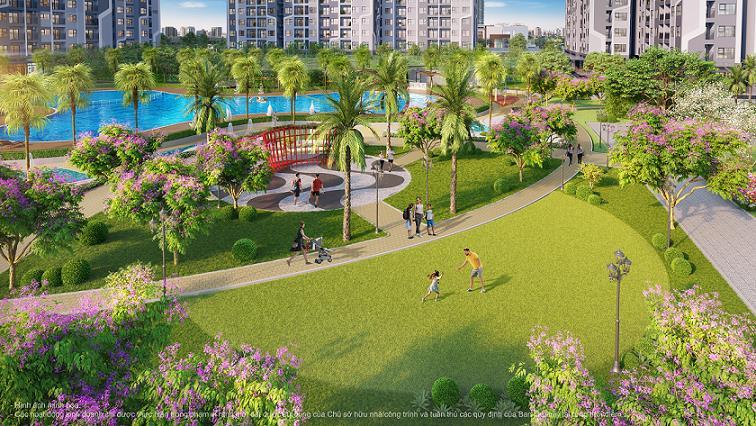 Một bước chạm tới 25 tiện ích nội khu tại phân khu The Miami mang đến trải nghiệm đậm chất sống nghỉ dưỡng.